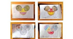 Osmiletý fanoušek kreslí hlavu Deadmau5 každý den