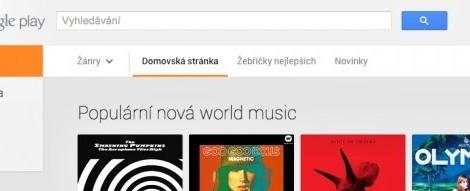 Služba Google Play Music zamířila i do Česka