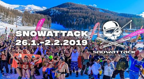 Snowattack 2019 aneb Když DJs řádí na horách